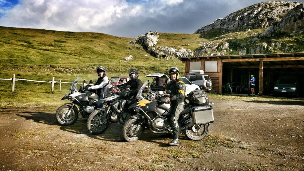 La Via del Sale con le BMW GS