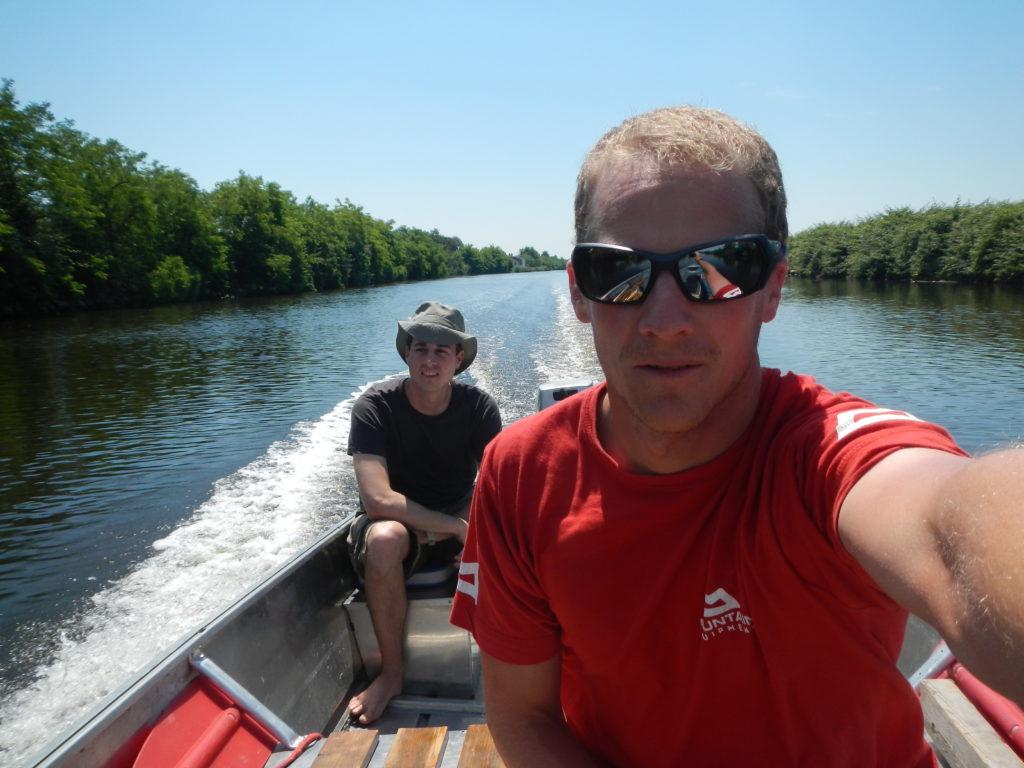 Locarno-Venezia: Navigazione fluviale a bordo di un Canadien 434